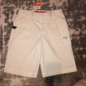 🌈Puma Golf Performance White Bermuda Short 30